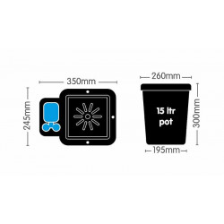 Bar Light - Вегетация Микро 120см