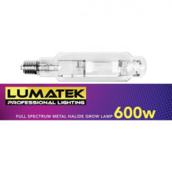 Lumatek 600W Metal Halide Full Spectrum Grow Lamp
