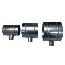 Dimlux T-Piece 125mm-50mm-125mm