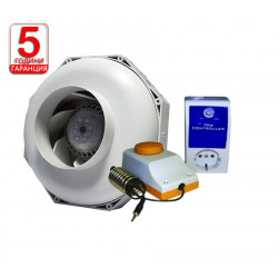 Комплект вентилация (Can Fan 125L/350m3 + Cli-Mate Fan Controller)