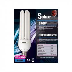 CFL Solux 120W 6500k + Stuco