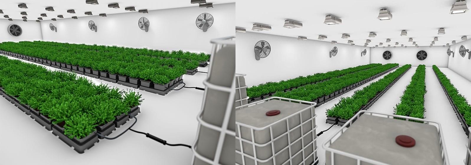 Easy2grow 12 System - напоителна система