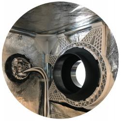 Root Tex Pot  3,8л. - Черна саксия от геотекстил (кръгла)