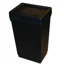 Резервоар за Easy2Grow 47л (черен) с капак и уплътнителен пръстен