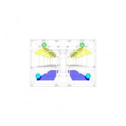 Комплект вентилация (Centro Blauberg 200 max + Cli-Mate Fan Controller)