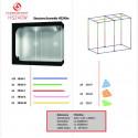 CFL 200W 6500K+CFL 200W 2700K Solux + Stucco - Комплект