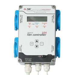 GSE 16A Fan Controller Контролер на вентилацията(2вентилатора)