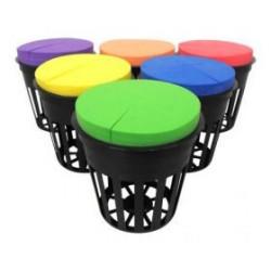 PLANTIT -  Неопренов диск цветен за разсад (5см)