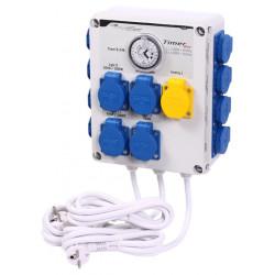 GSE Timer Box II 12 x 600W + Heat Контролно Табло