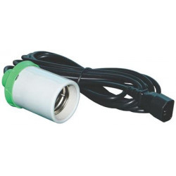 Вертикална фасонка E40 (Lumii) с кабел 4м.