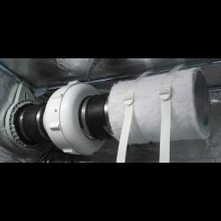 GQ 120 - 1.2 x 1.2 x 2.2 m.