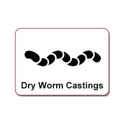Guanokalong Dried worm castings 5L